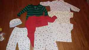 Assorted baby clothing 3-12 months