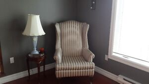 Wing back chair in great condition