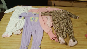 6-9 months baby sleepers. (4pcs)