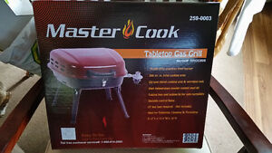 MASTERCOOK TABLETOP GAS BBQ GRILL BRAND NEW IN BOX $49.00