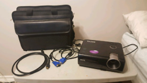 Benq MS510/MX511 digital projector with case