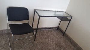 IKEA Computer Desk and a Chair