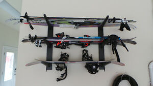 Ski & Board Wall Mounted Rack - Shipping Included