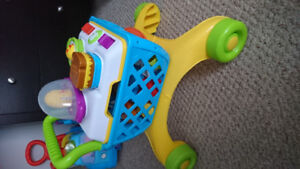 Bright starts grocery cart baby walker