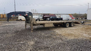 2010 PRECISION TANDEM AXLE GOOSE NECK TRAILER
