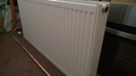 Double panel radiator 1.2m x 0.6m