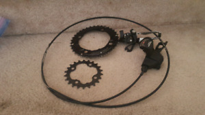 Shimano Deore 2x system (Brand New)