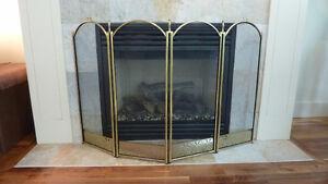 Fireplace Screen & Tool Set