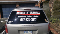 Double A Drywall  ( any job...  Big or small)