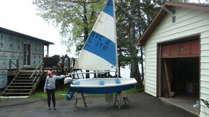 9ft boat and 4 hp enivrude twin