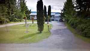 HOME FOR RENT IN QUESNEL (Dragon Lake/Red Bluff area)