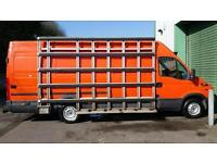 2005(55) IVECO DAILY 35 S12 LWB WINDOW VAN HIGH TOP ORANGE 2.3 TURBO DIESEL