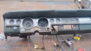 66 barracuda factory tach dash