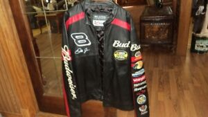 Large Dale Earnhardt Jr. Chase Authentics Nascar Leather Jacket