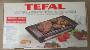 Tefal Multi-Grill Smokefree Indoor Electric BBQ