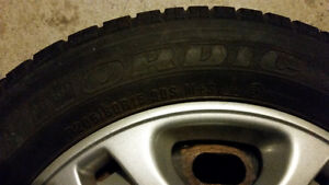 Winter Nordic Icetrac Tires P205/60 R15 Kitchener / Waterloo Kitchener Area image 4
