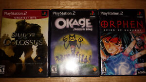 Playstation 2 PS2 Games Okage or Orphen: Scion of Sorcery