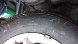 215/65 R16 Nokian Winter Tires on Rims Prince George British Columbia image 2