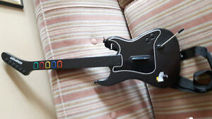 3 games and wireless rock band attachment for PS2