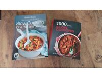 2 X slow cooker cook books