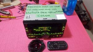 A VENDRE 5 RADIO DE AUTOS DE 65 A $140, KENWOOD, SONY, JVC,