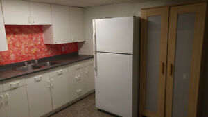 A spacious basement apartment for rent