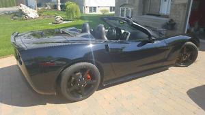 Superbe corvette c6 décapotable convertible A1 **71000kl
