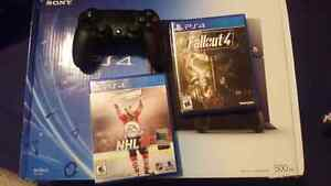 PS4 with Fallout 4, NHL16