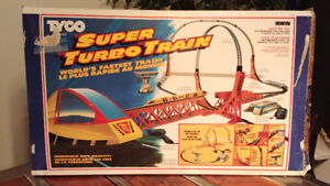 Super Turbo Train Vintage de Tyco