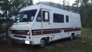 1978 Pace Arrow class A motor home for sale