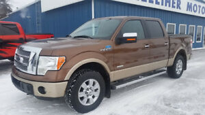 "'New Motor"" 2012 Ford F-150 SuperCrew LARIAT 4x4"