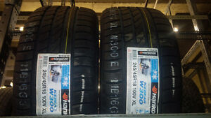 Hankook W300 winter tires - 245/45R18