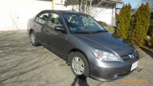 2004 Honda Civic Grey Special Edition (only owner)