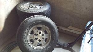 Toyo tires on rims