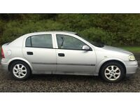 AUTOMATIC VAUXHALL ASTRA 1.6L (2001) year mot clean car