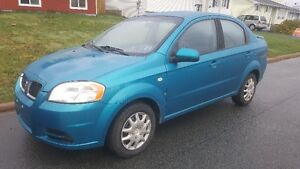 2008 Chevrolet Aveo base Sedan new mvi/ new tires