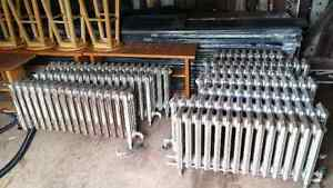 10 VINTAGE CAST IRON  hot water radiators,excellent condition