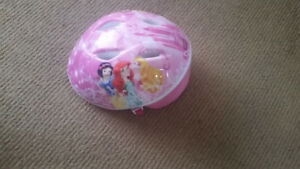 Princess Adjustable girls helmet. Fits from about 1 year old to