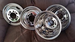 "4 - 16.5"" HUBCAPS  for GMC RV Motorhome"