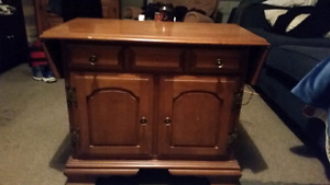 Solid wood corner unit and end table