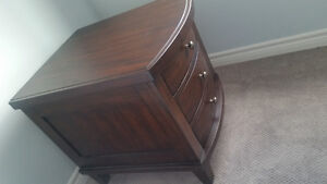 2 Wood Side Tables with Drawers London Ontario image 6