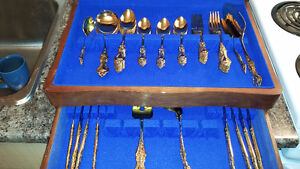 Complete 54 piece Gold Plated RoyaleSealey London Ontario image 2