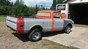 1972 GMC short box project truck