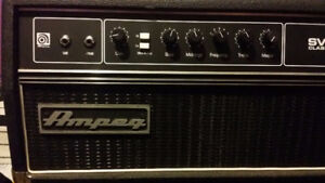 Ampeg SVT Classic All Tube Head