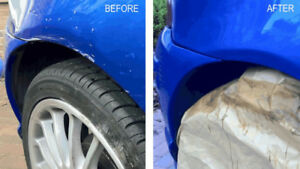 Mobile Car Scratch Removal