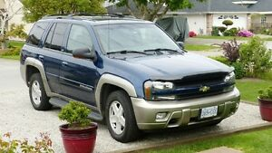 2002 Chevrolet Trailblazer LTZ 4X4  4.2L