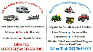 Ray's and Ethan's Small Engine and Golf Cart Repairs Service