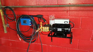 Pressure washer system from $1699 free delivery/installation GTA
