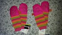 Mimitens - Infant baby mittens, Bunny Embroidery, brand new