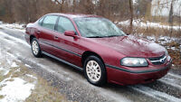 2002 CHEV IMPALA CERT &E-TESTED OIL SPRAYED REGULARLY